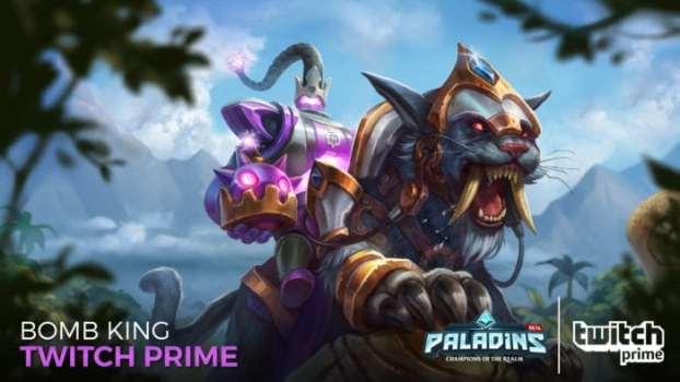 King Bomb King Twitch Prime Skin