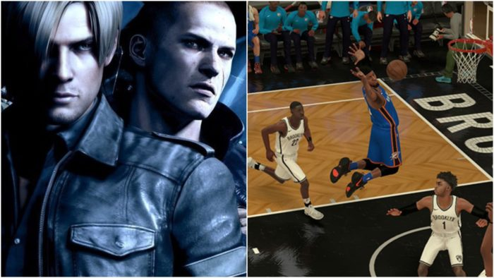 NBA 2K18, Resident Evil 6, predictions, games with gold