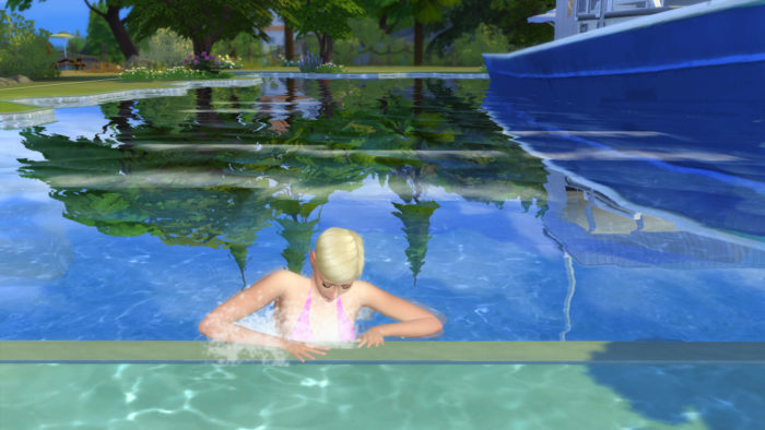 waves, sims 4, mod