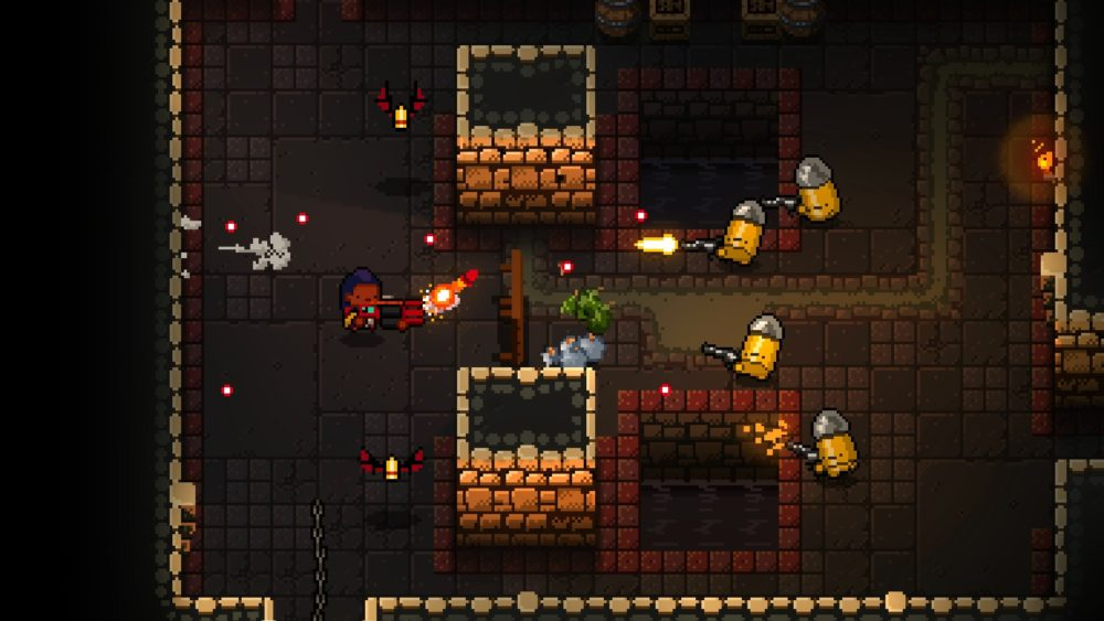 Enter the Gungeon, a challenging twin-stick shooter