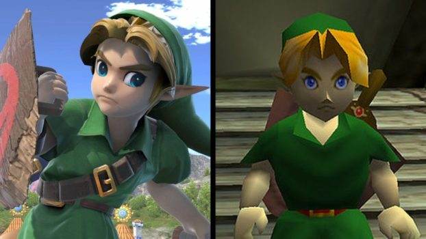 Young Link - The Legend of Zelda: Ocarina of Time (N64, 1998)
