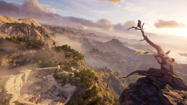 how big the map is, Assassin's Creed Odyssey, how to fast travel in assassin's creed odyssey, how to fast travel, get bounties in assassin's creed odyssey