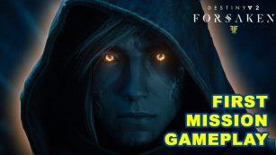 Destiny 2 Forsaken First Mission Prison Break Gameplay