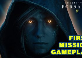 Destiny 2 Forsaken First Mission Prison Break Gameplay