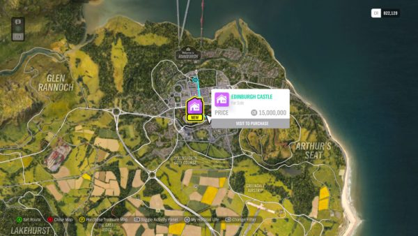 house location, how to buy houses, forza horizon 4