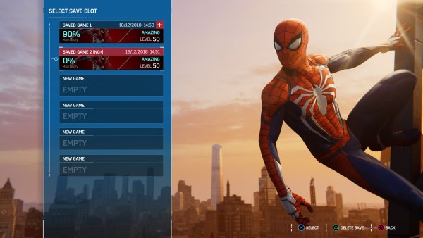 Spider-Man PS4, how to start new game plus in Spider-Man PS4