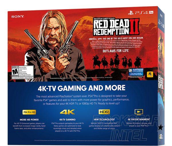 Red Dead Redemption 2, Red Dead, File Size, PS4, PS4 Pro, Bundle, Rockstar, PlayStation