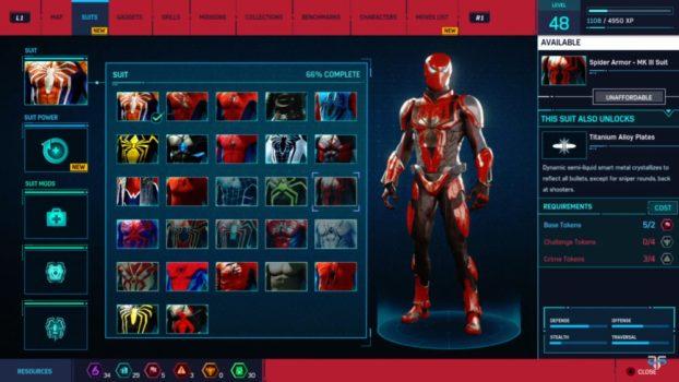4. Spider Armor - MK III Suit