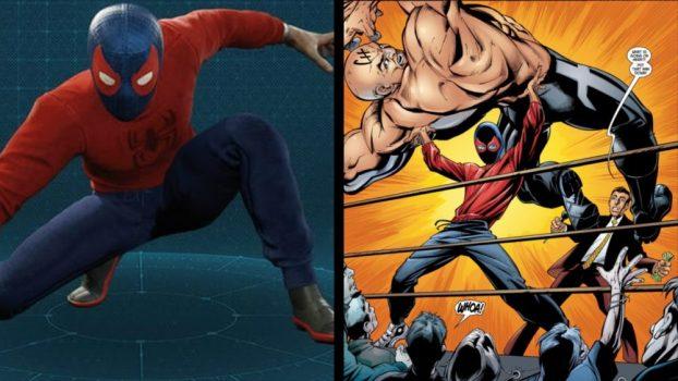 Wrestler Suit - Ultimate Spider-Man Vol 1 #3 (2001)