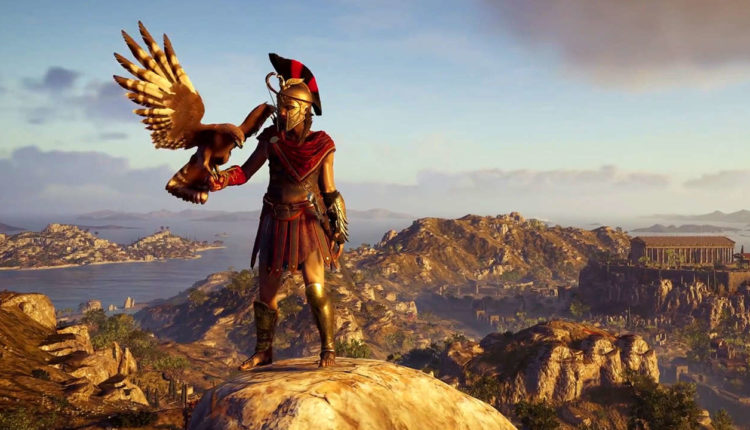 assassin's creed odyssey, what the install size is, ac odyssey, install size, file size, upgrade weapons