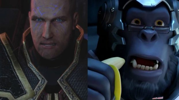 Crispin Freeman as Baldur (Too Human) and Winston (Overwatch)