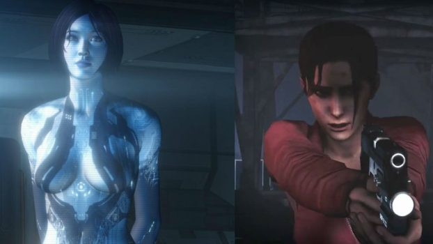 Jen Taylor as Cortana (Halo Series) and Zoey (Left 4 Dead)