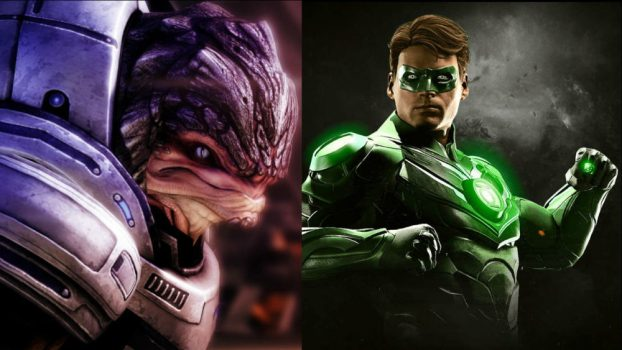 Steve Blum as Urdnot Grunt (Mass Effect Series) and Green Lantern (Injustice 2)