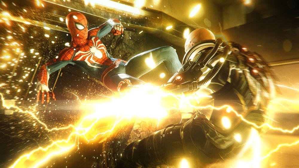 spider-man, electro, kick, ps4