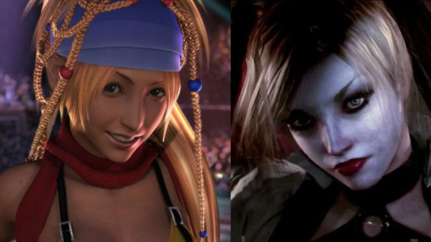 Tara Strong as Rikku (Final Fantasy Series) and Harley Quinn (The Arkham Series)