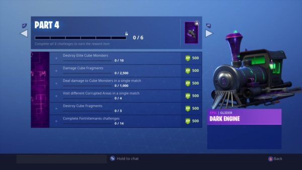 Fortnitemares Challenges Part 4
