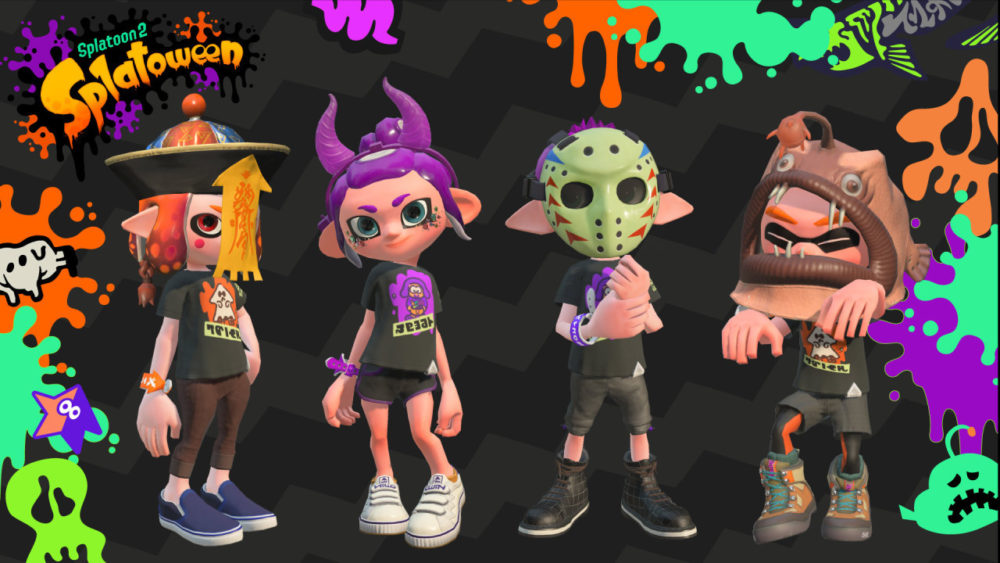 halloween, splatoon 2, events, nintendo, switch, 2018