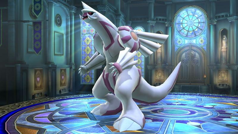 Smash Bros Pokemon Palkia