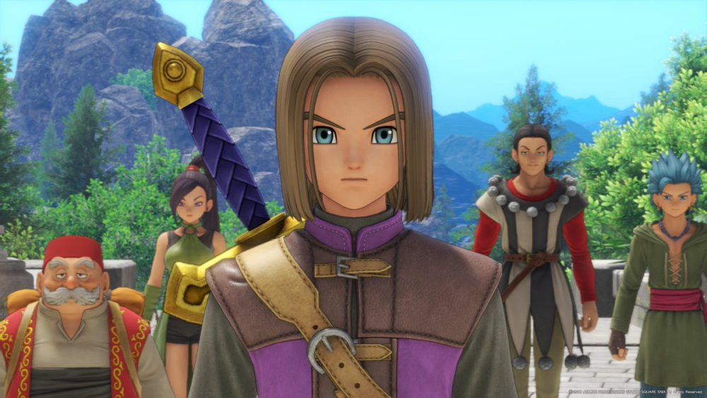 cliche, dragon Quest Xi, chosen one