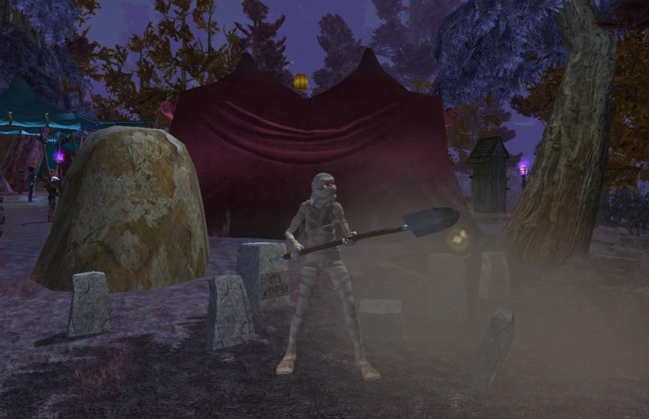 EverQuest II, Halloween, events, 2018, features