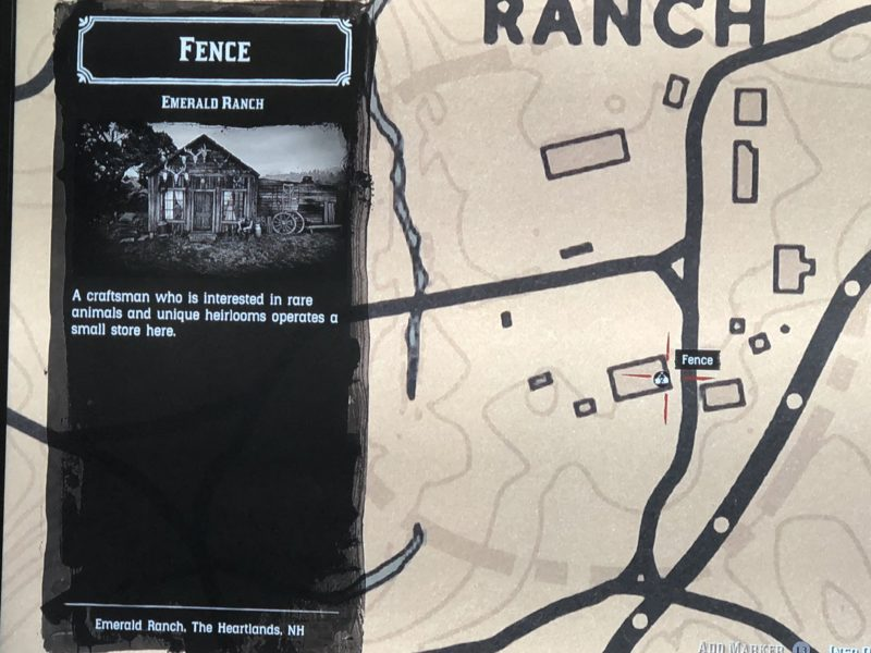 Red Dead Redemption 2, gold bars, Sell stolen items, fence, where to sell stolen items