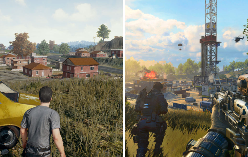 PUBG vs. Blackout, Graphics