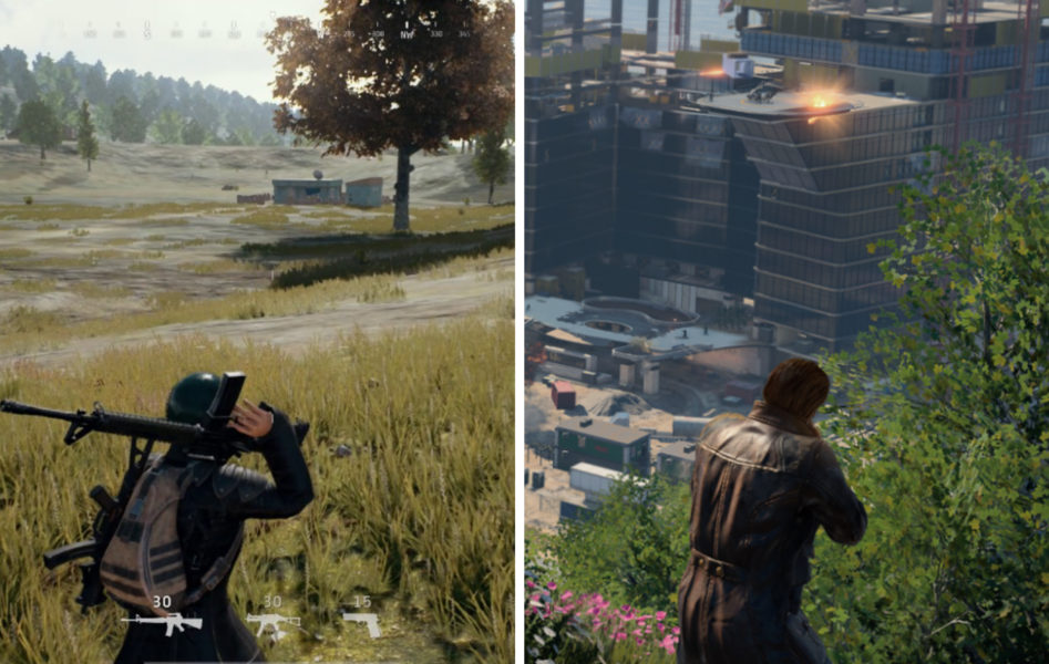 PUBG vs. Blackout, Gameplay