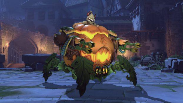 Jack-O'-Lantern Wrecking Ball