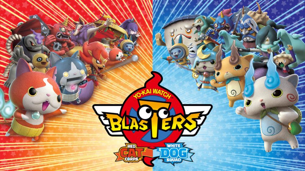 Yo-Kai Watch Blasters: White Dog Squad, Yo-Kai Watch Blasters: Red Cat Corps