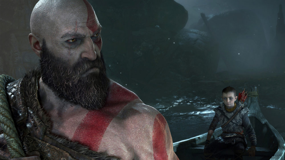 protagonist, kratos, god of war, ps4, santa monica, sony, playstation, 2018, top 10, protagonists