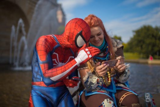 Spider-Man and Aloy