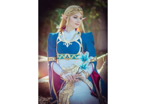 Princess Zelda from Breath of the Wild