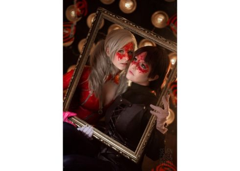 Panther and Queen from Persona 5