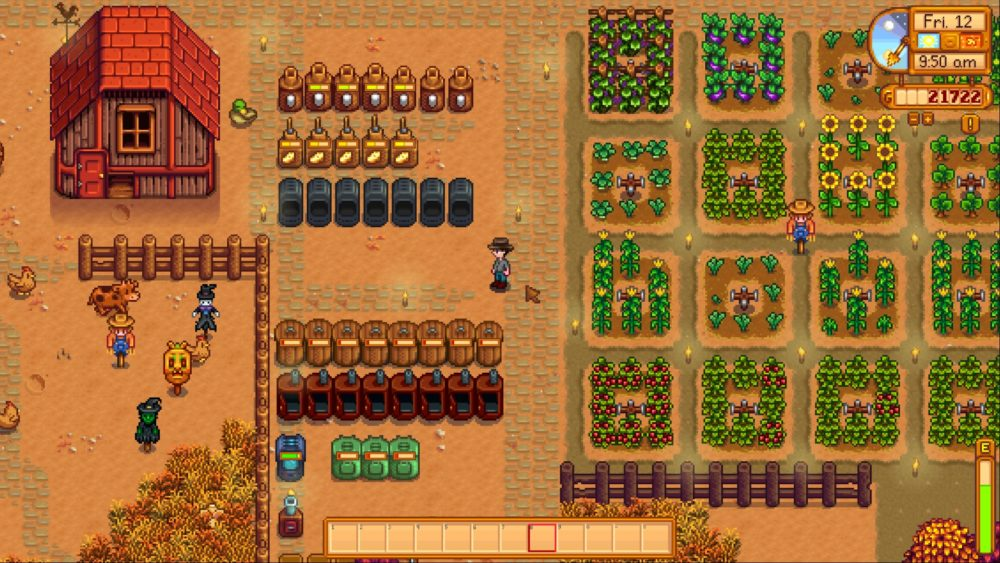 stardew valley, progress bars, mods, best stardew valley mods