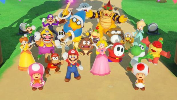 best super mario party mini-games