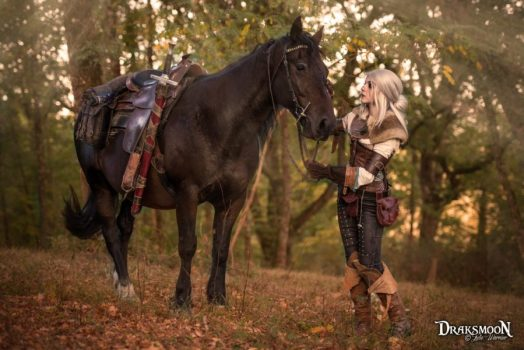 Ciri from The Witcher 3: Wild Hunt