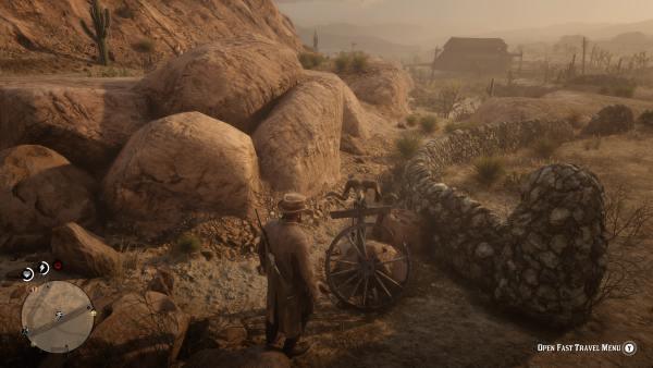 red dead online, fast travel