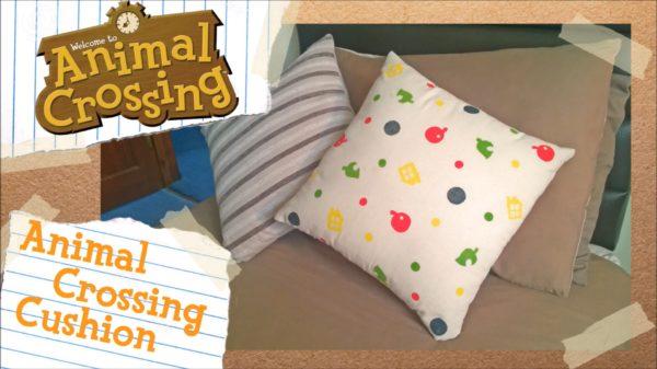 Animal Crossing Printed Cushion