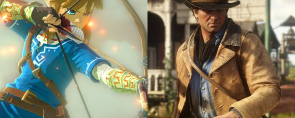 Breath of the Wild, Red Dead, Red Dead Redemption 2, Rockstar, Nintendo, Open World, Quiet Moments, Pacing