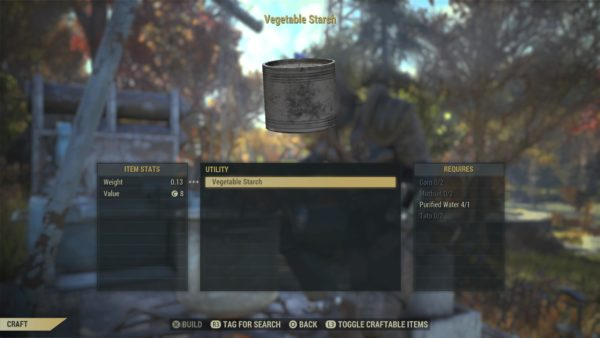 how to get adhesive in Fallout 76