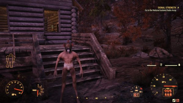 Wearing Power Armor Turns You Into Slender Man
