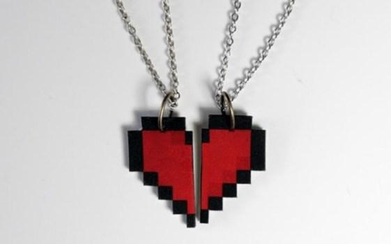 Zelda Heart Necklace