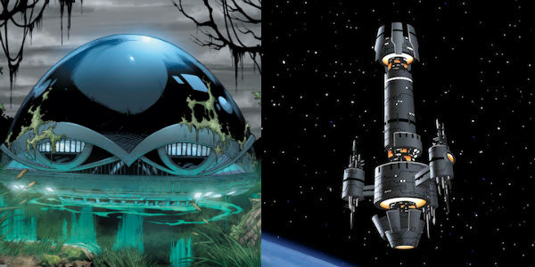 Hall of Doom/Justice League Watchtower