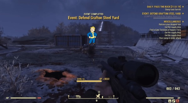 Fallout 76: How to Claim a Workshop & What it Does