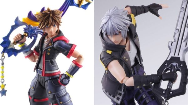 Kingdom Hearts III Bring Arts Sora and Riku
