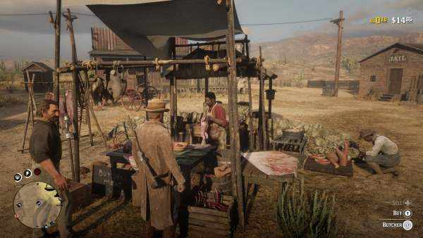 Red Dead Online butcher, where to sell pelts in red dead online