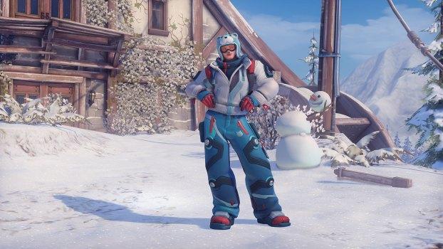 8. Snowboarder — Zarya