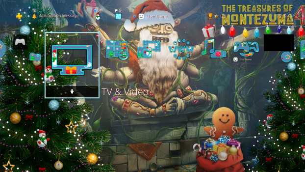 The Treasures of Montezuma 4 Christmas Theme 2018