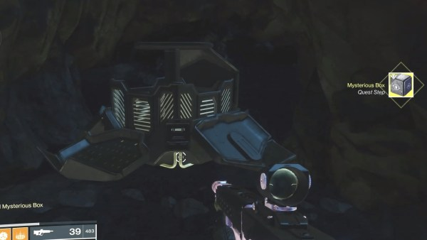 Destiny 2, mysterious box location