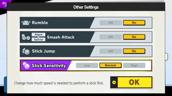 Smash Bros Ultimate Controller Options: How to Change Stick